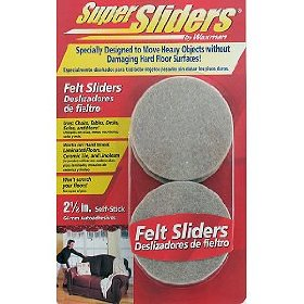 sliders for wood floors