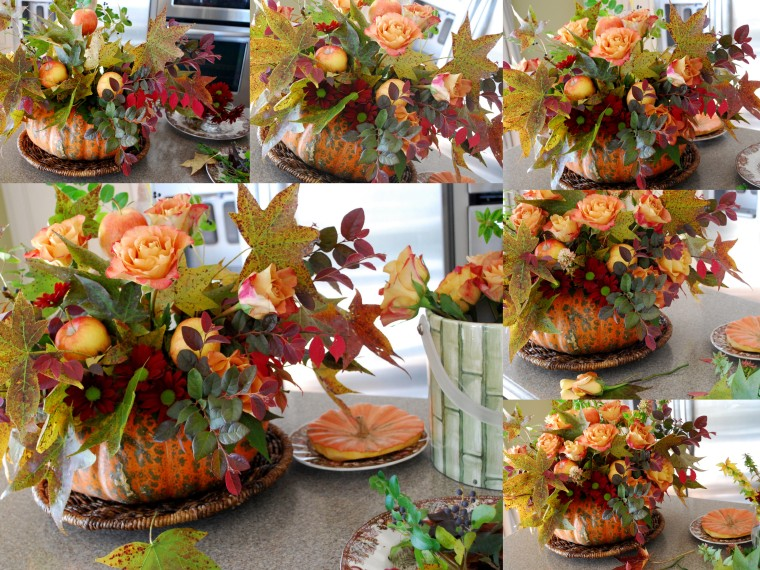 A Pumpkin Vase Centerpiece Home Is Where The Boat Is