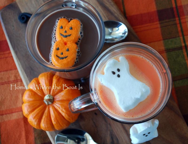 Halloween-Rezept: Orangene heiße Schokolade