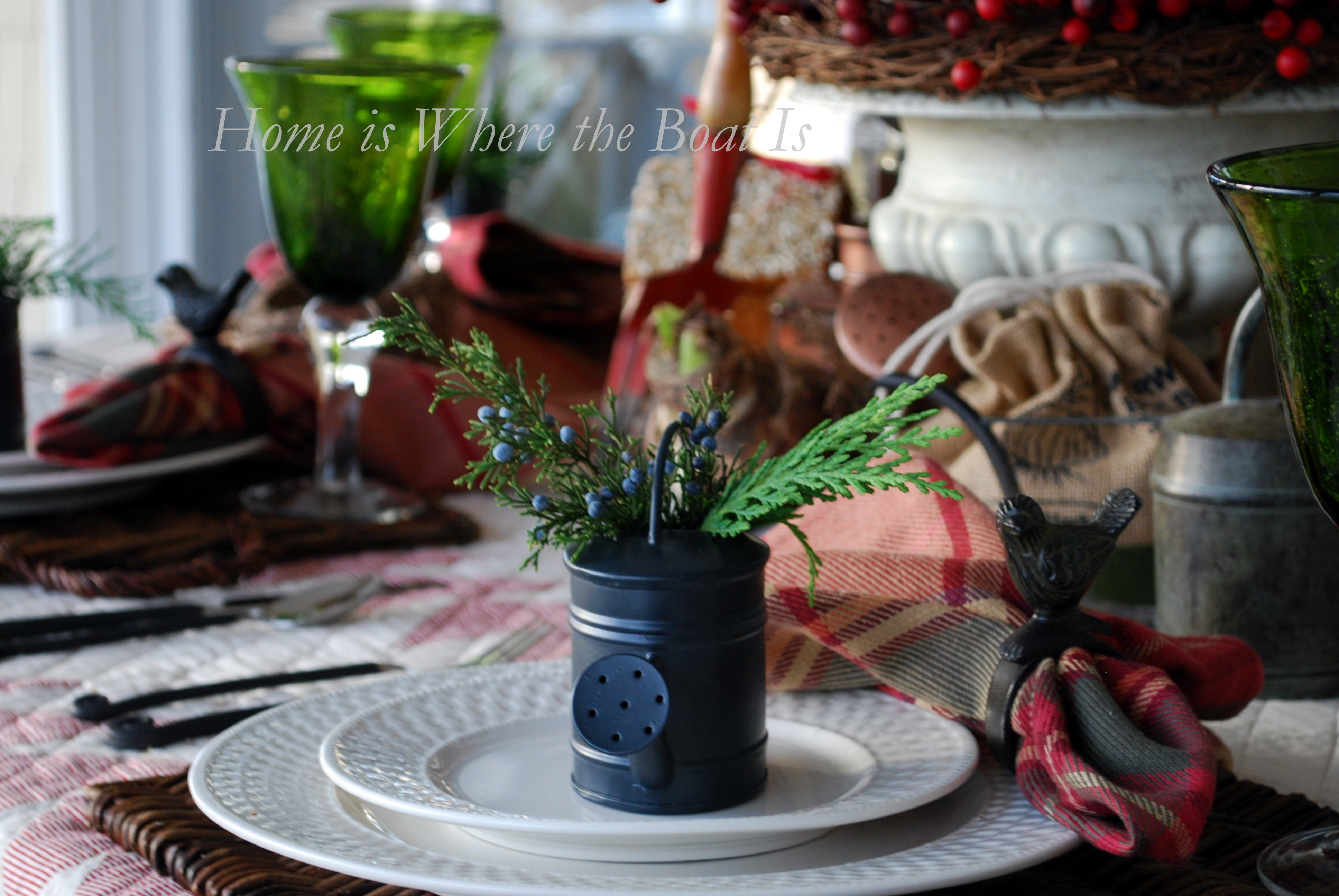 A Gardener S Christmas Home Is Where The Boat Is