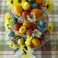 Garnish with Easter Peeps
