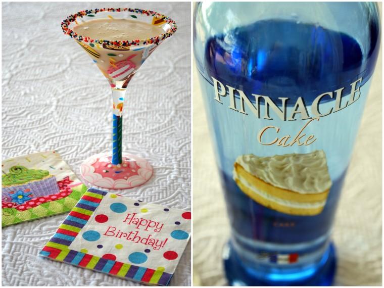 Birthday Cake Martini Godiva