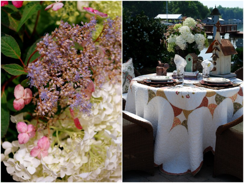 hydrangea garden table11