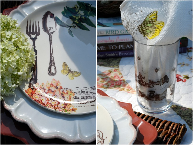 hydrangea garden table3