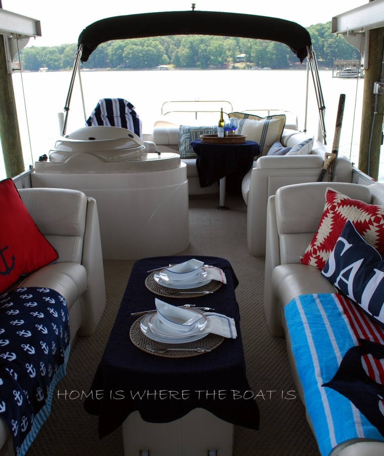 Setting sail home is where the boat is for Interior decorating ideas for boats