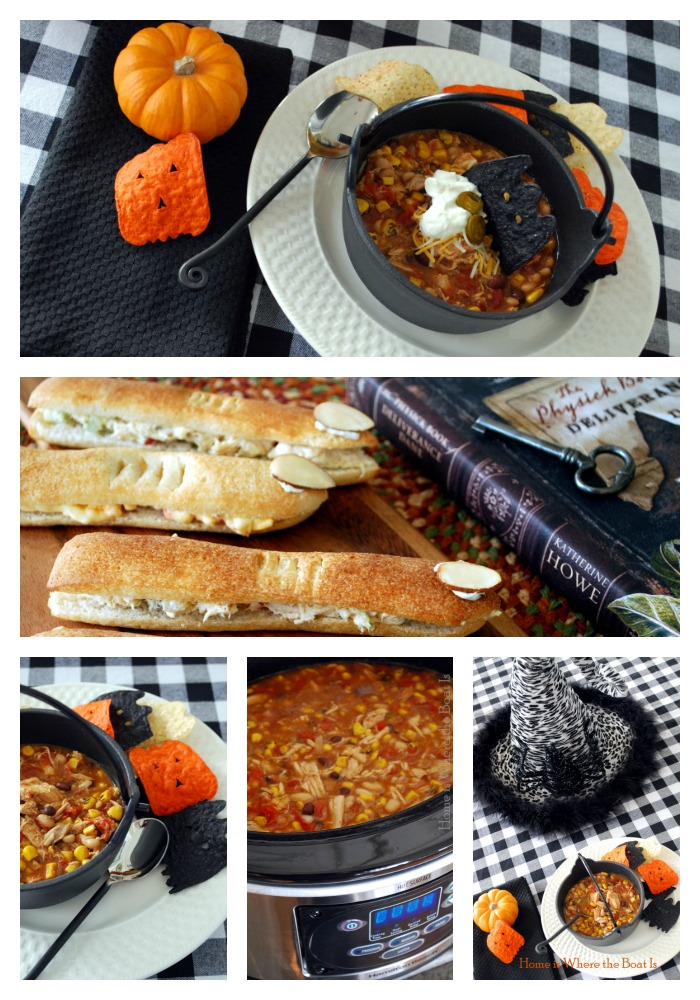 Witches' Brew Stew and Finger Sand-Witches | ©homeiswheretheboatis.net #halloween