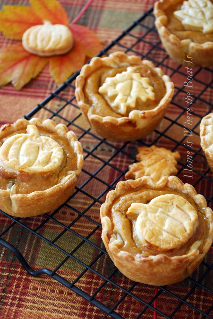 Mini Pumpkin Pies | Most Loved Thanksgiving Pies of All Time