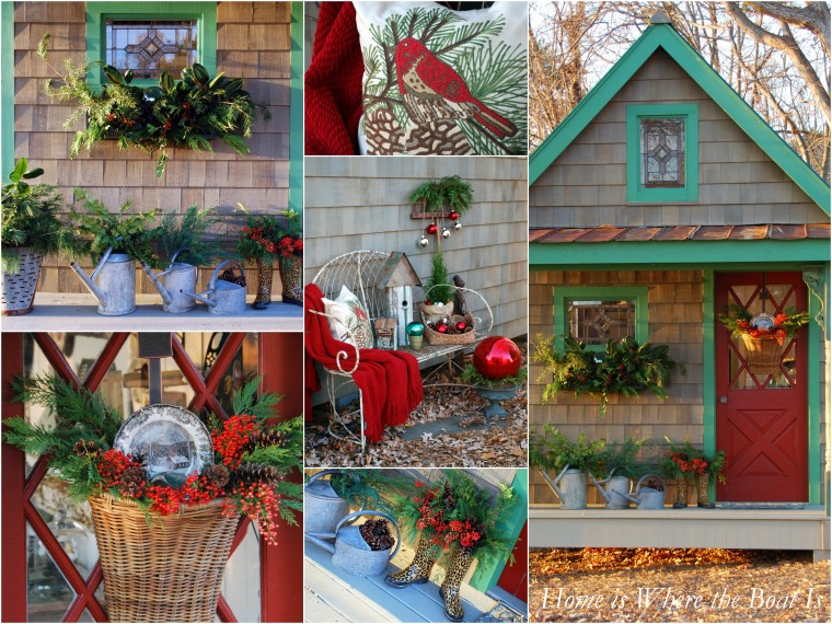 A Potting Shed Christmas Home is Where the Boat Is