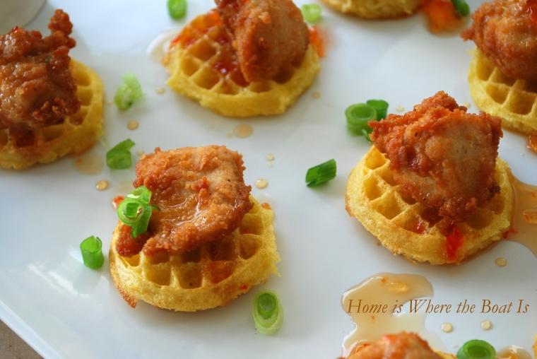 how to cook eggo mini waffles