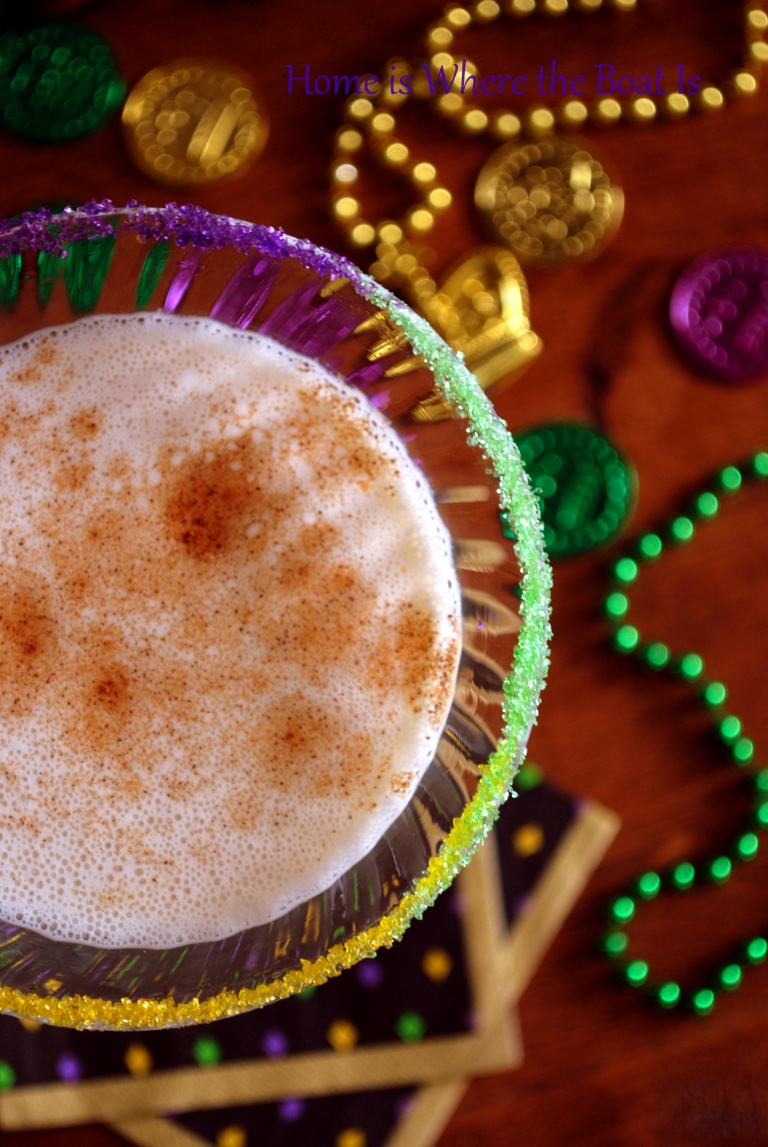 King Cake Cocktail | Fat Tuesday Party Ideas for Mardi Gras