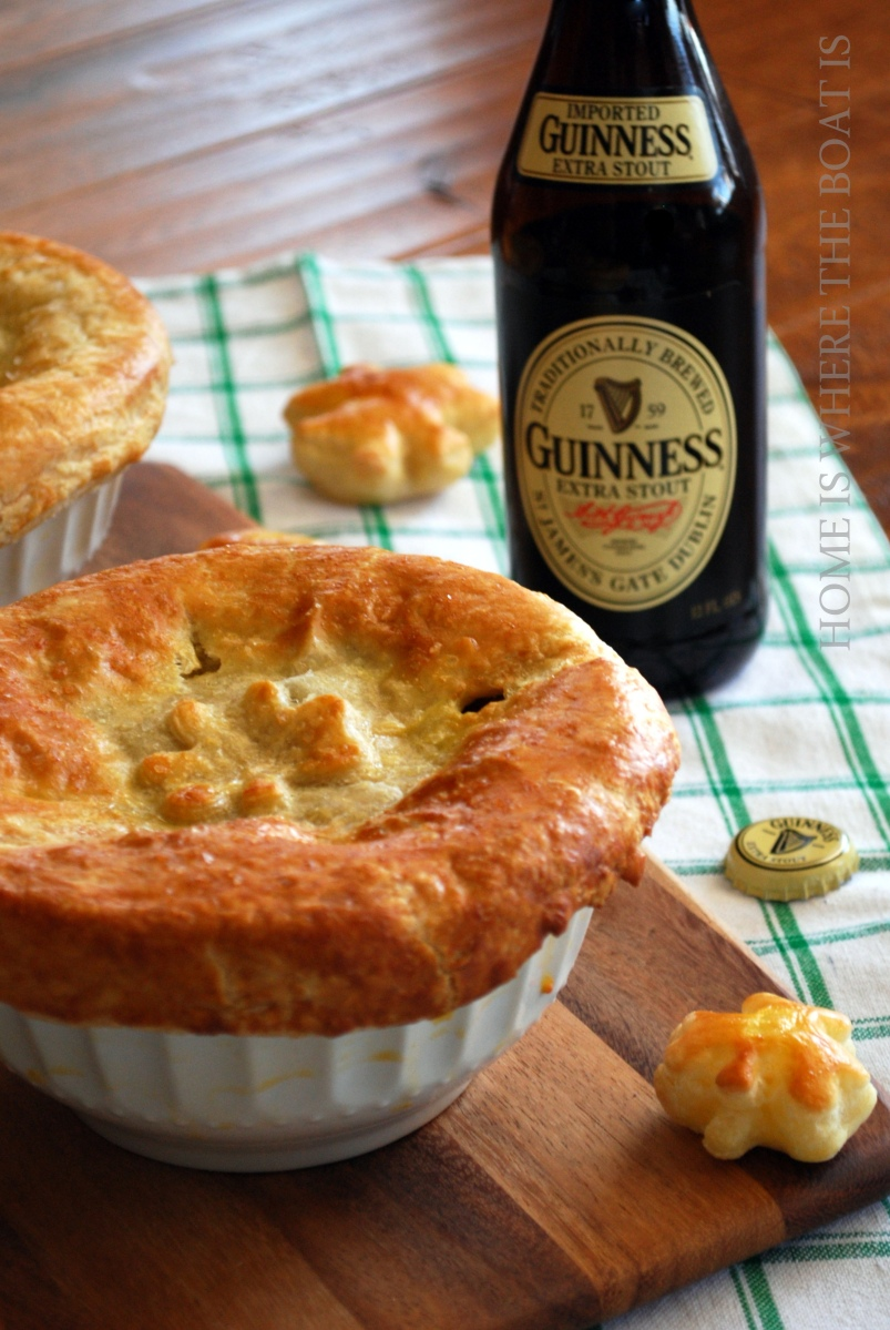 Beef and Guinness Pot Pie
