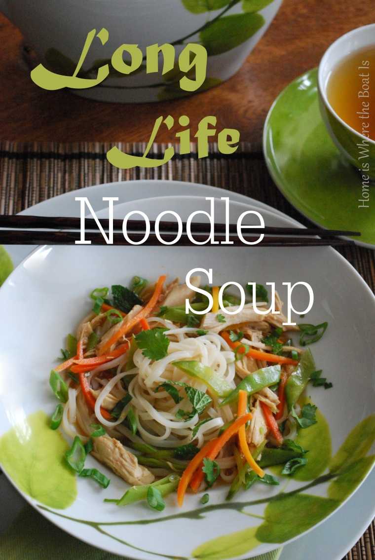 Long Life Noodle Soup