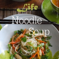 The Year of the Horse & Long Life Noodle Soup