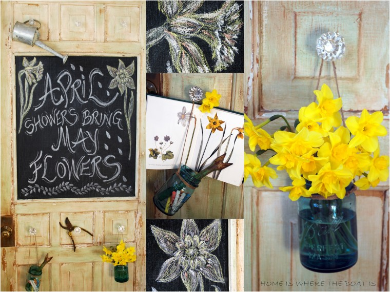 chalkboard Potting Shed