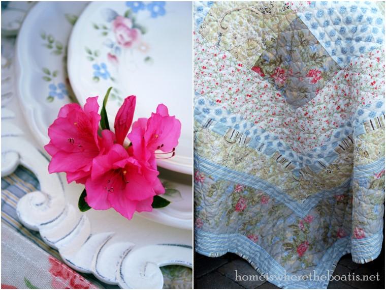 Tea Rose table