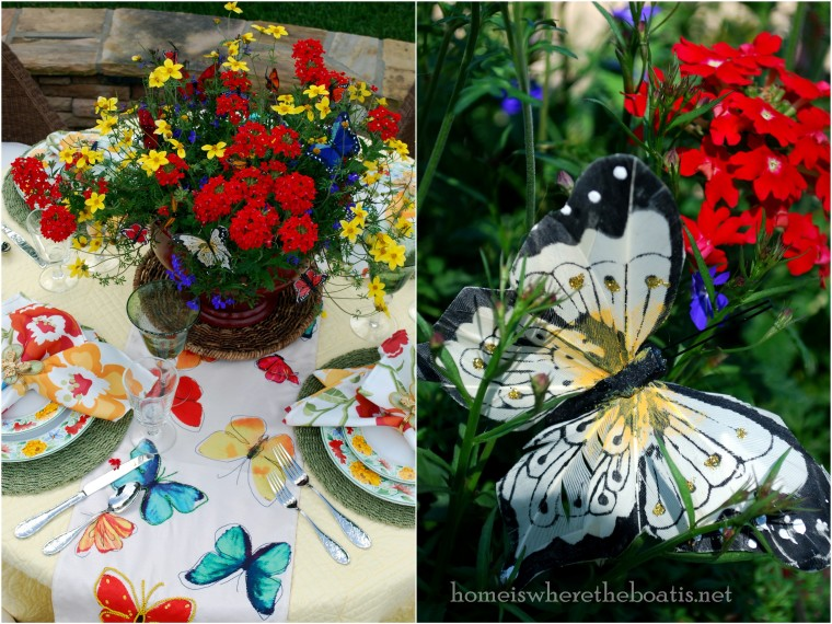 Butterfly Mosaic Table1