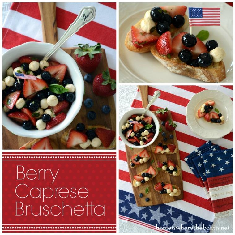 Berry Caprese Bruschetta-001