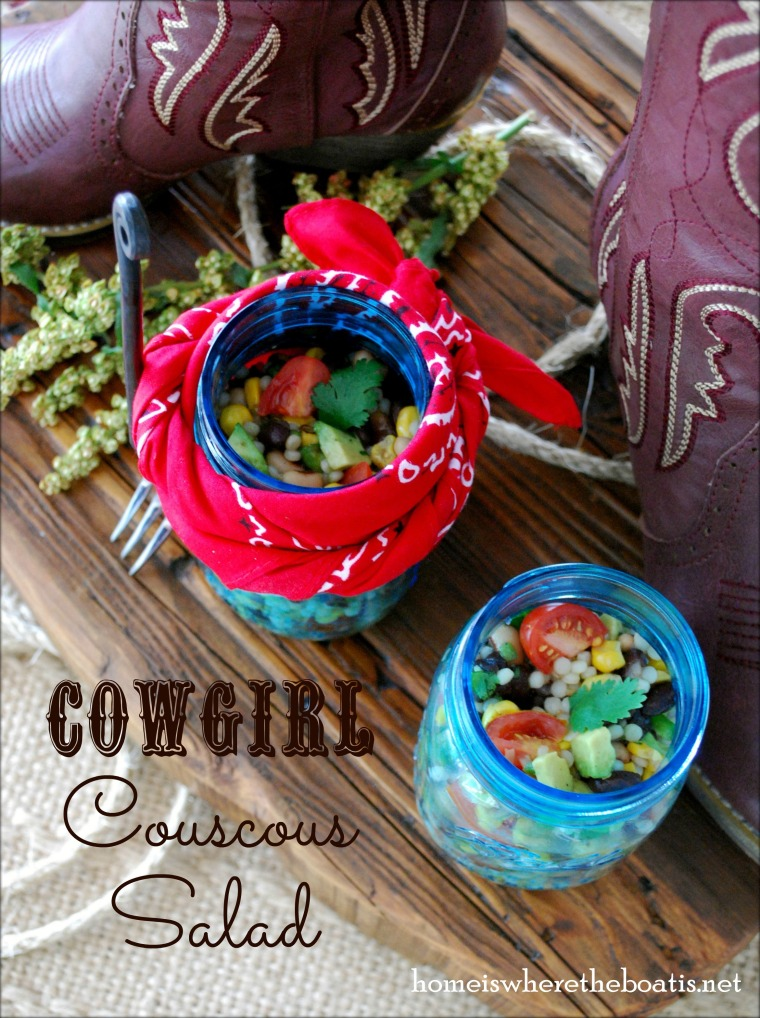 Cowgirl Couscous Salad