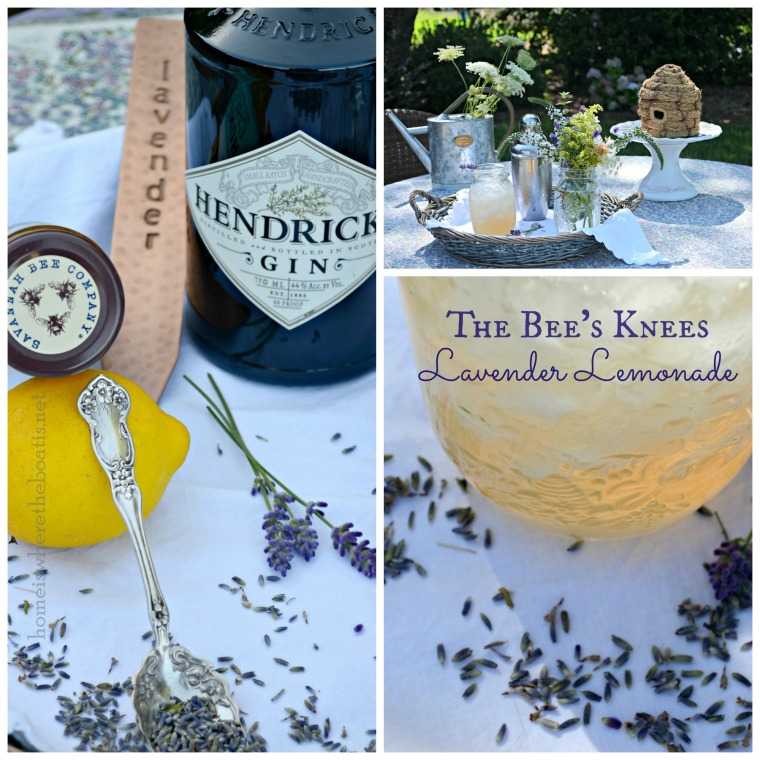 The Bee's Knees Lavender Lemonade-001