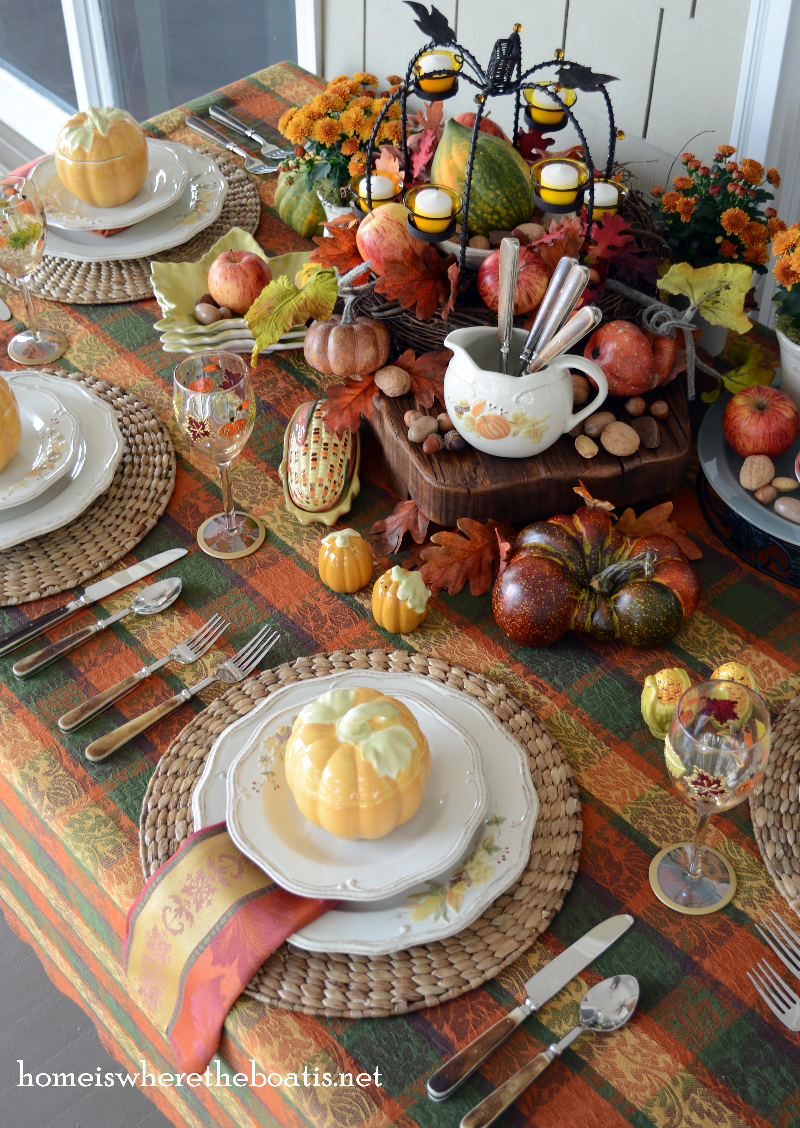 Fall at the table plymouth dinnerware home is where