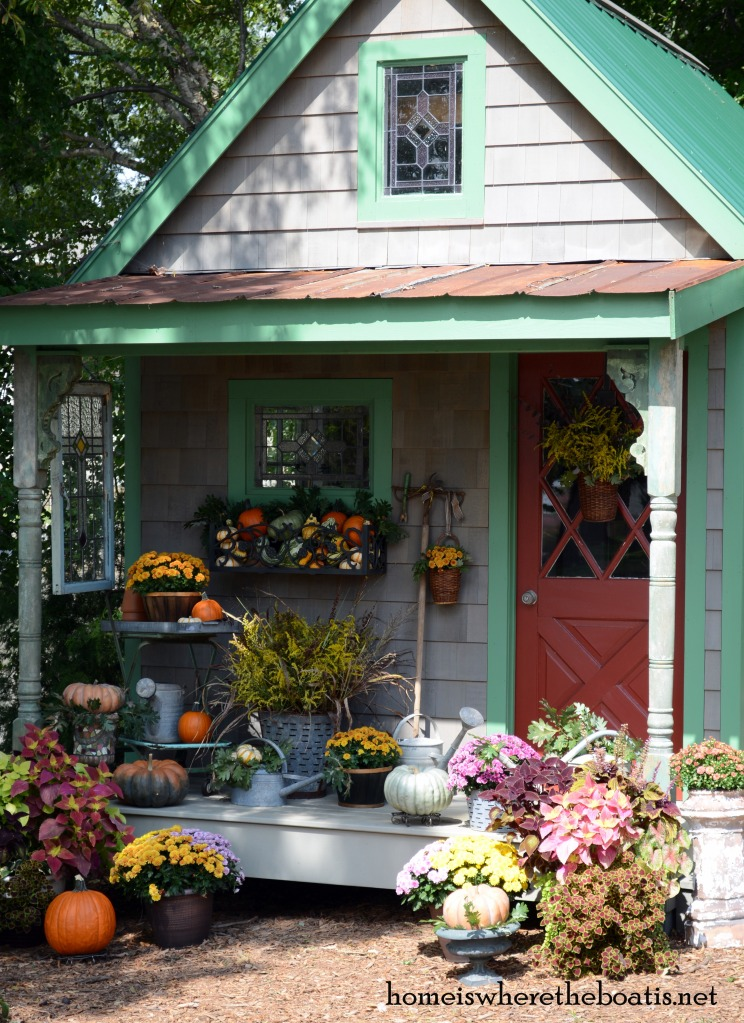 Fall potting shed inspiration and quaint garden sheds home is with fall around the corner im looking for potting shed inspiration workwithnaturefo