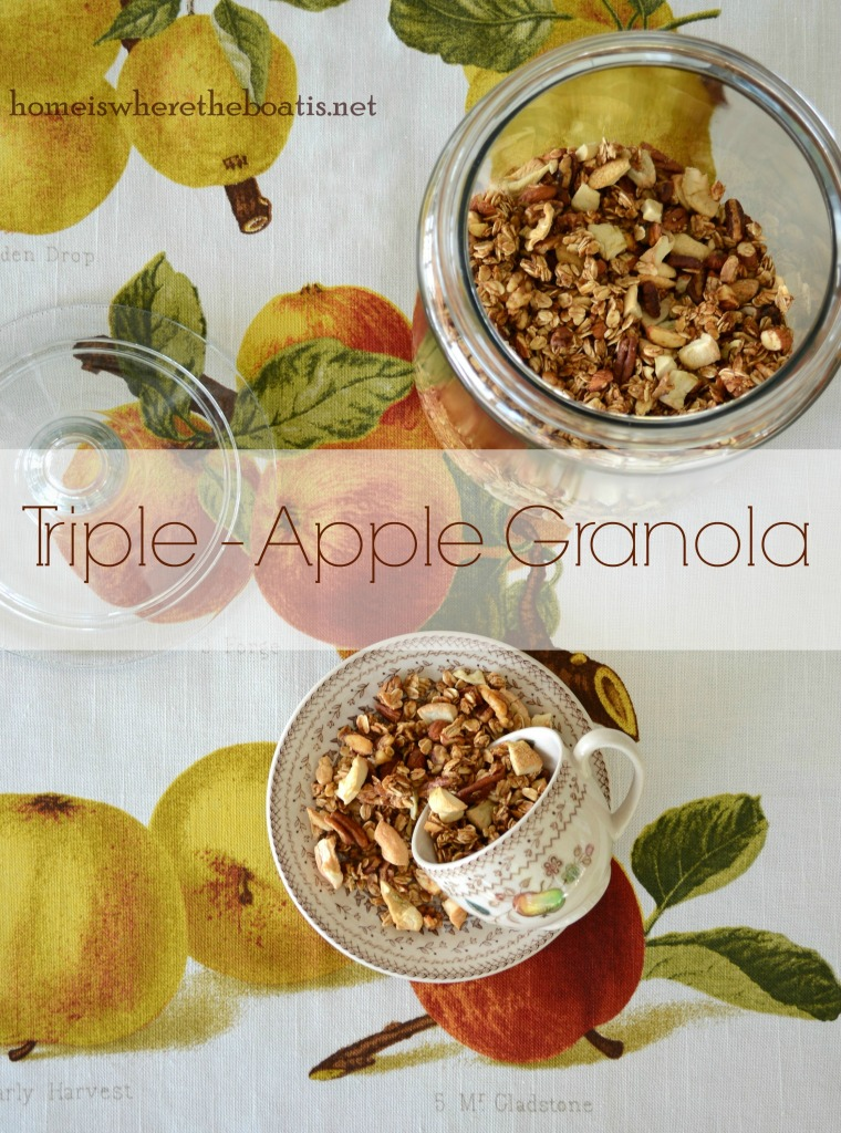 Triple-Apple Granola
