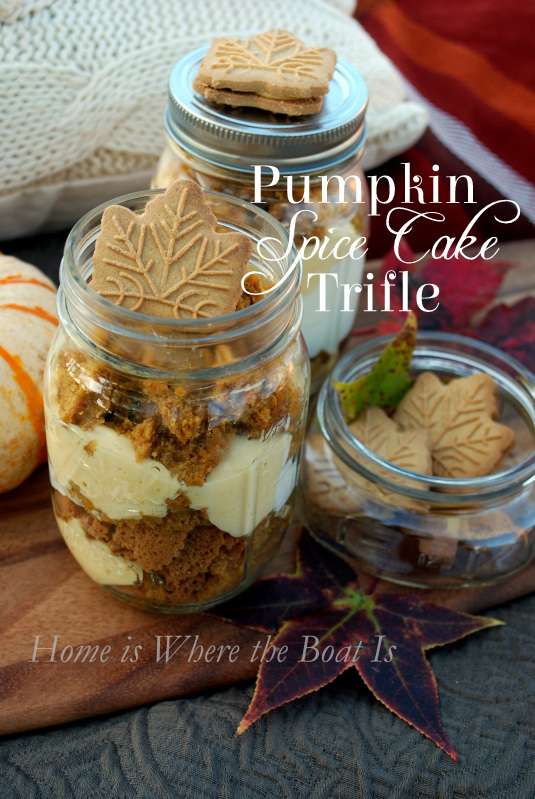 Pumpkin Trifle Using Spice Cake