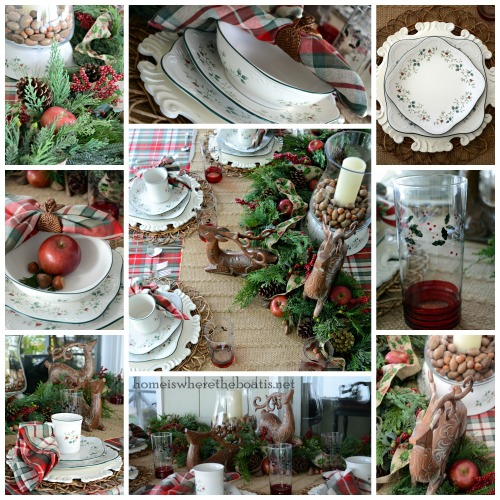 Pfaltzgraff Winterberry Table
