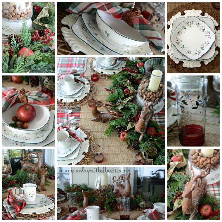 Pfaltzgraff Winterberry Table