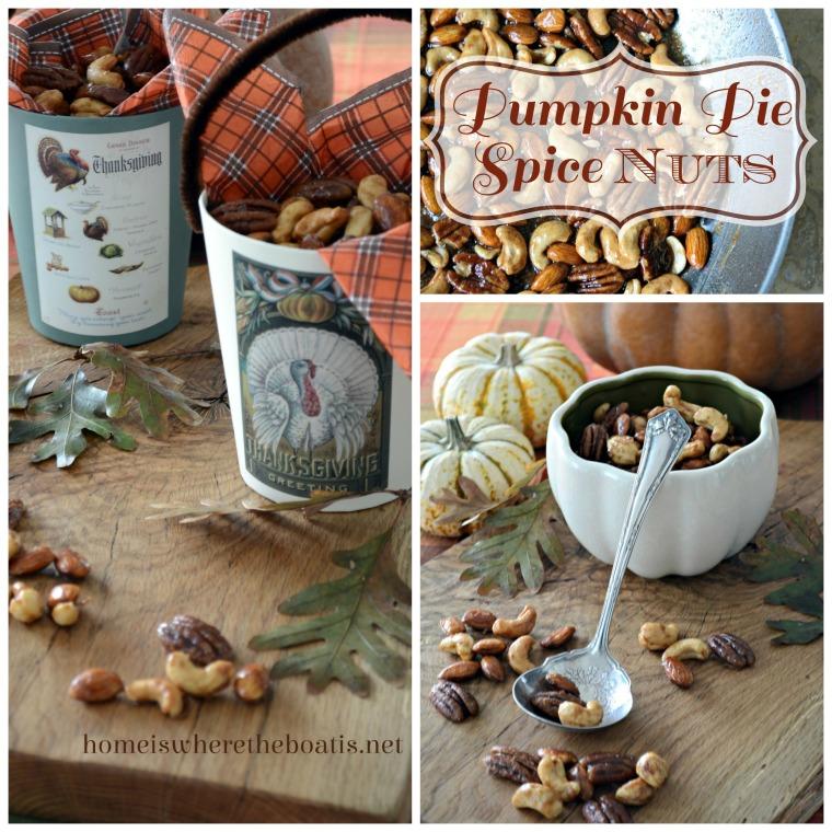Pumpkin Pie Spice Nuts