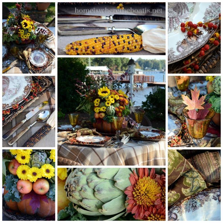 Thanksgiving Table Pumpkin Centerpiece