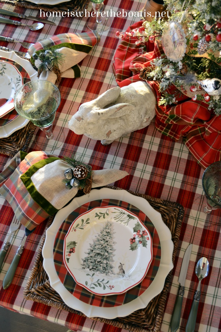 Better Homes And Gardens Christmas Plates Home Is Where