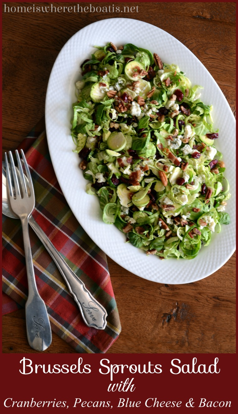 Shredded Brussels Sprouts Salad with Maple-Balsamic ...