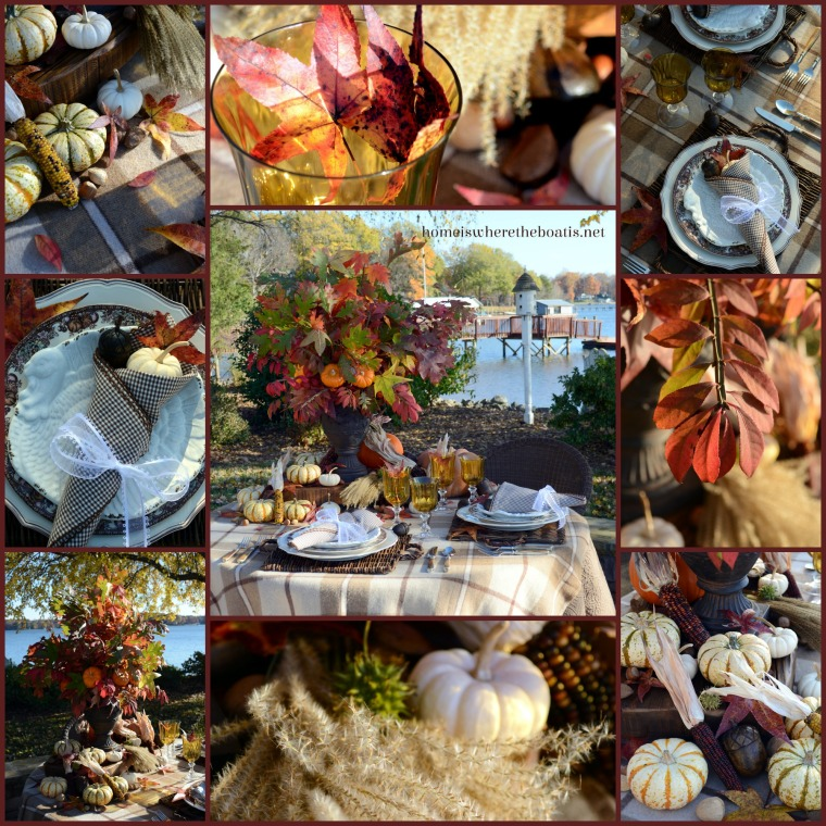 Giving Thanks Table
