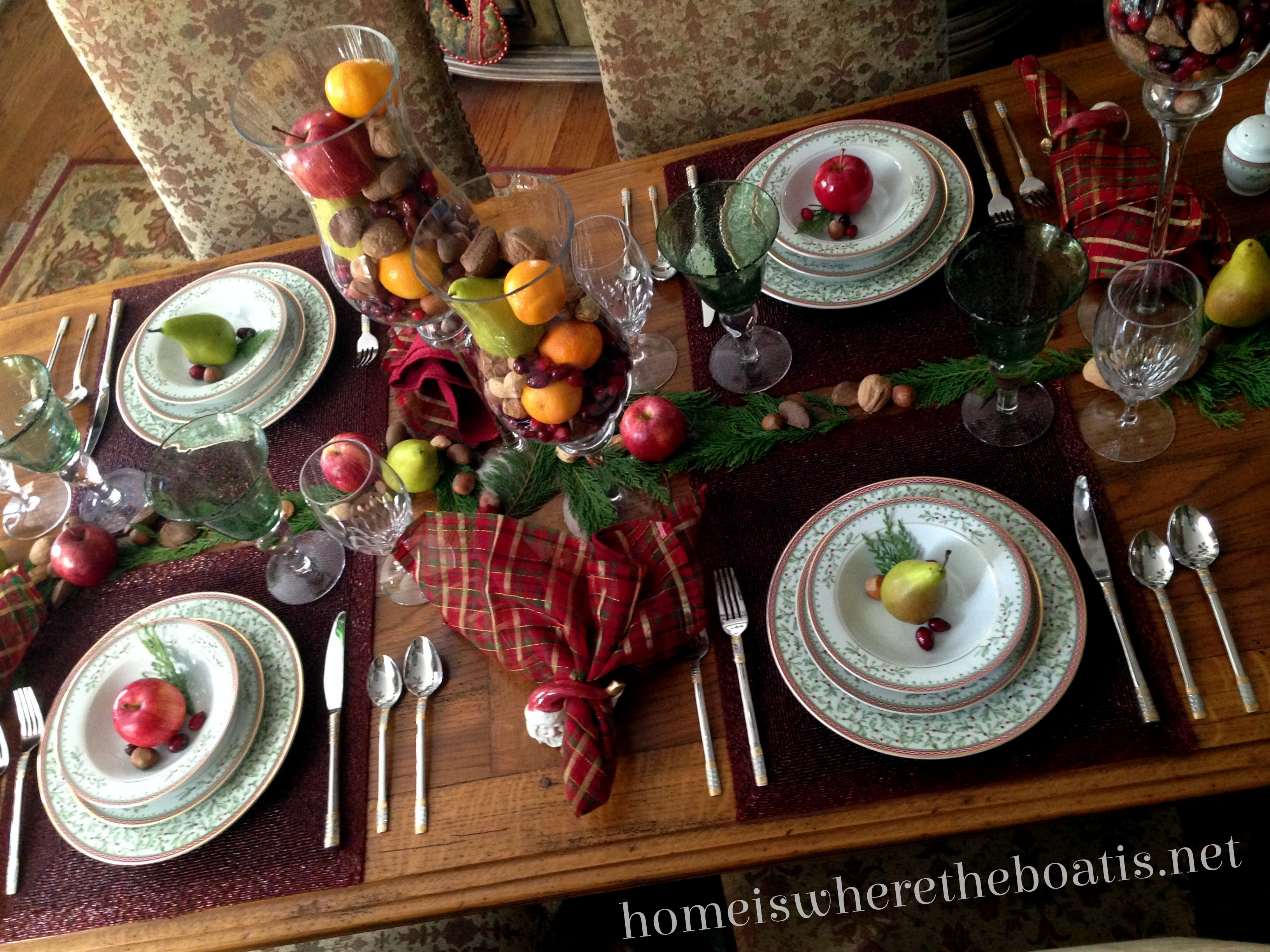 at the table with Mikasa Holiday Traditions! & At the Table~ Mikasa Holiday Traditions u2013 Home is Where the Boat Is