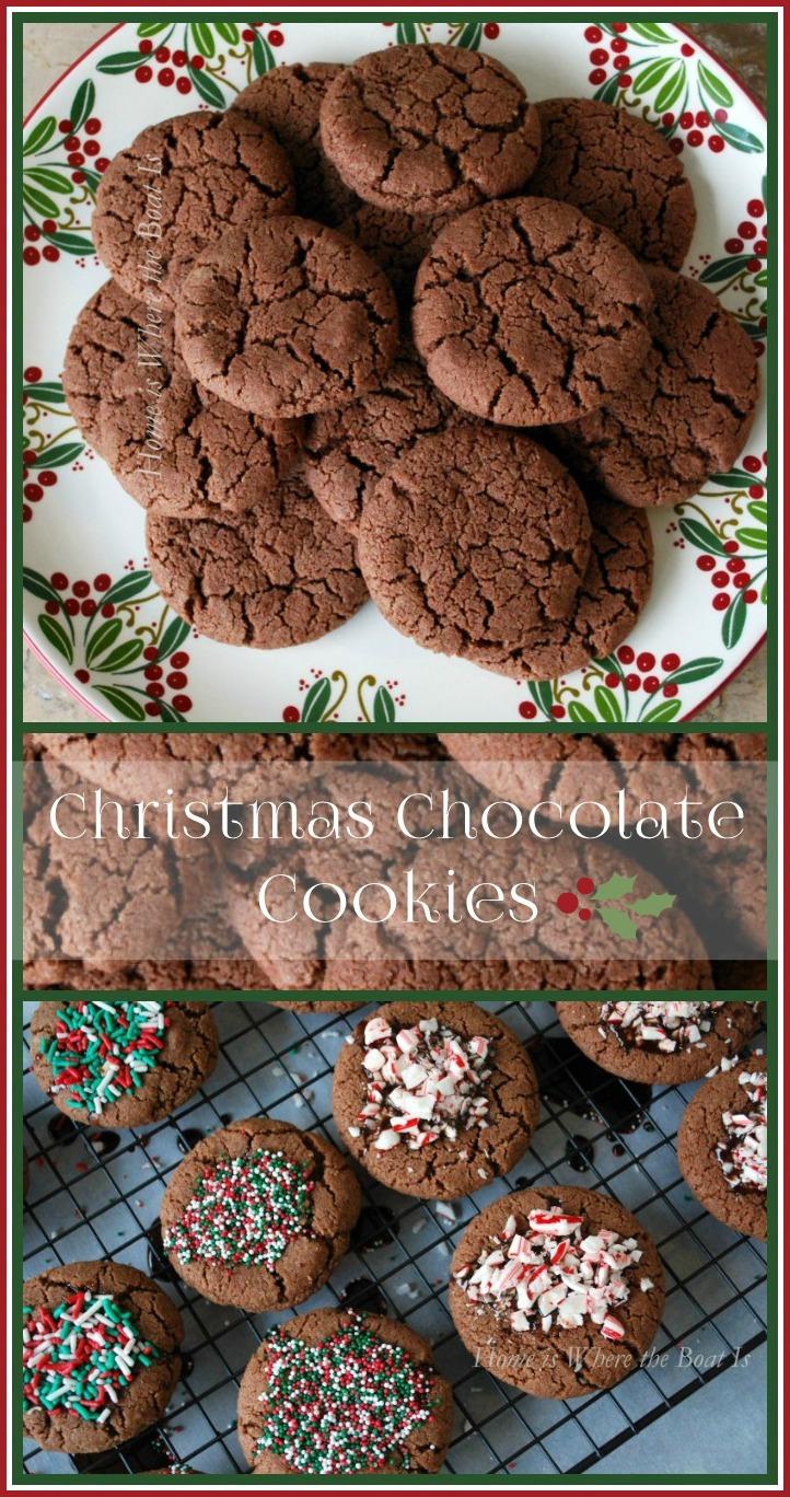 Christmas chocolate cookies recipe nigella
