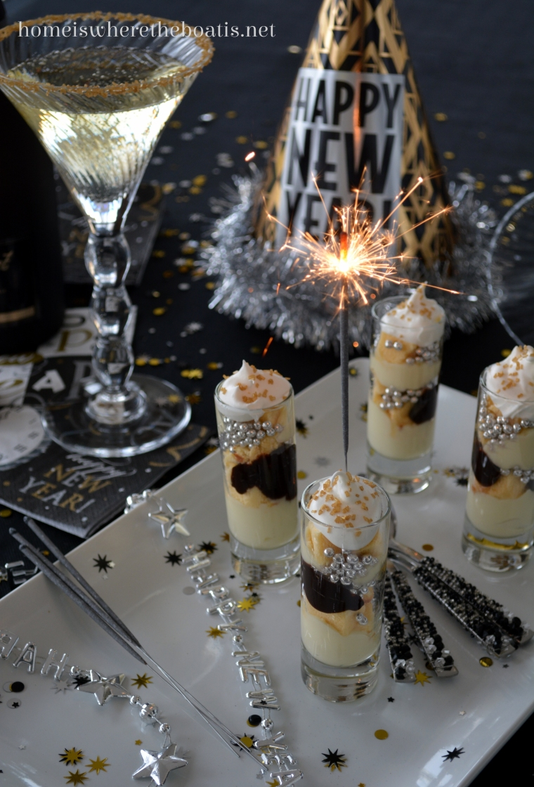 Sparkling New Year S Eve Nails Tutorial: A Sparkling New Year's Celebration And Mini Parfaits