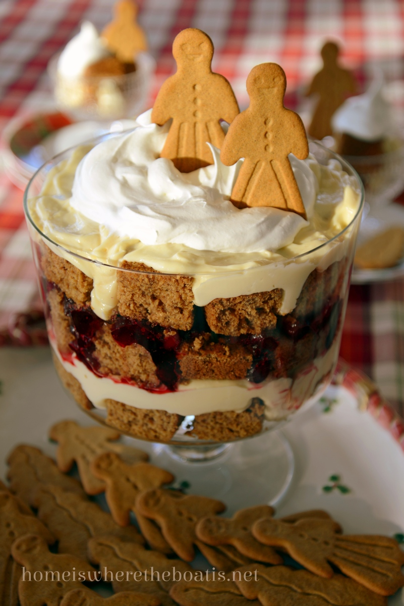 Gingerbread Cranberry Amp Lemon Curd Trifle Home Is Where