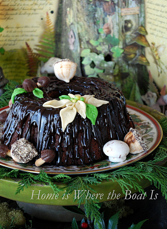 Stump de Noel Fairy Cake