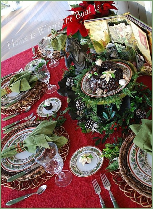 Fairy Little Christmas Table