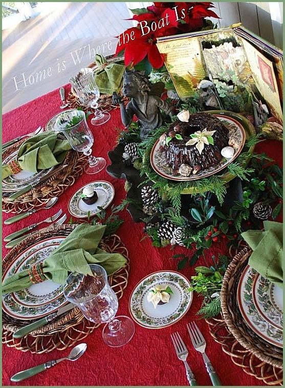 Fairy Little Christmas Table