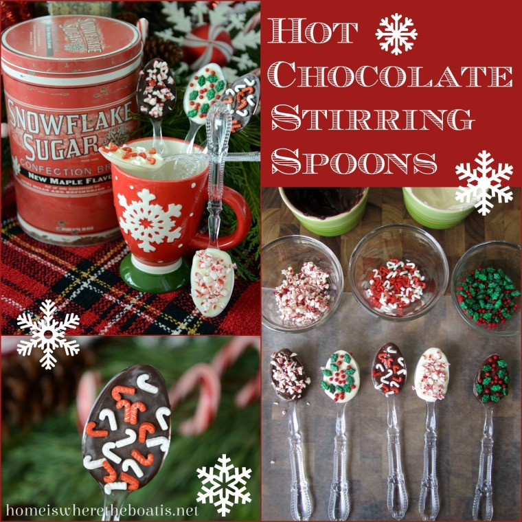 Hot Chocolate Stirring Spoons