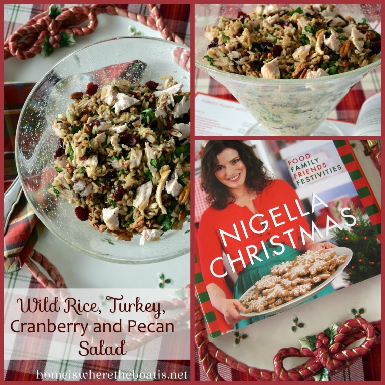 Wild Rice, Turkey, Cranberry and Pecan Salad is keeper recipe! Quick ...