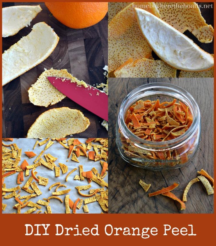 DIY Dried Orange Peel