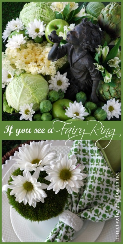 If You See a Fairy Ring St. Patrick's Day Table