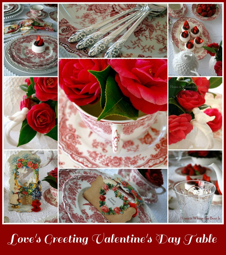Love's Greeting Valentine's Day Table