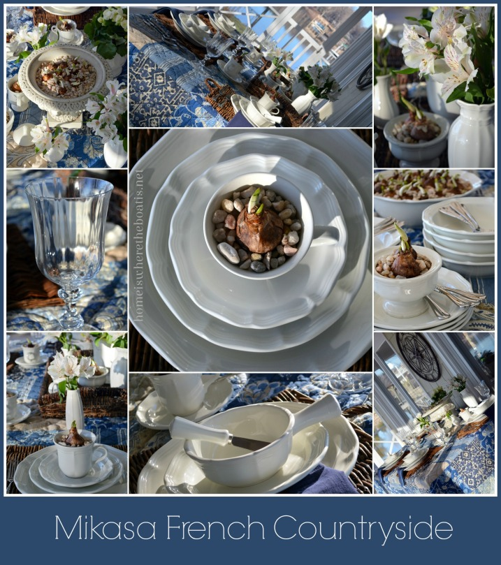 Mikasa French Countryside Dinnerware – Home is Where the Boat Is