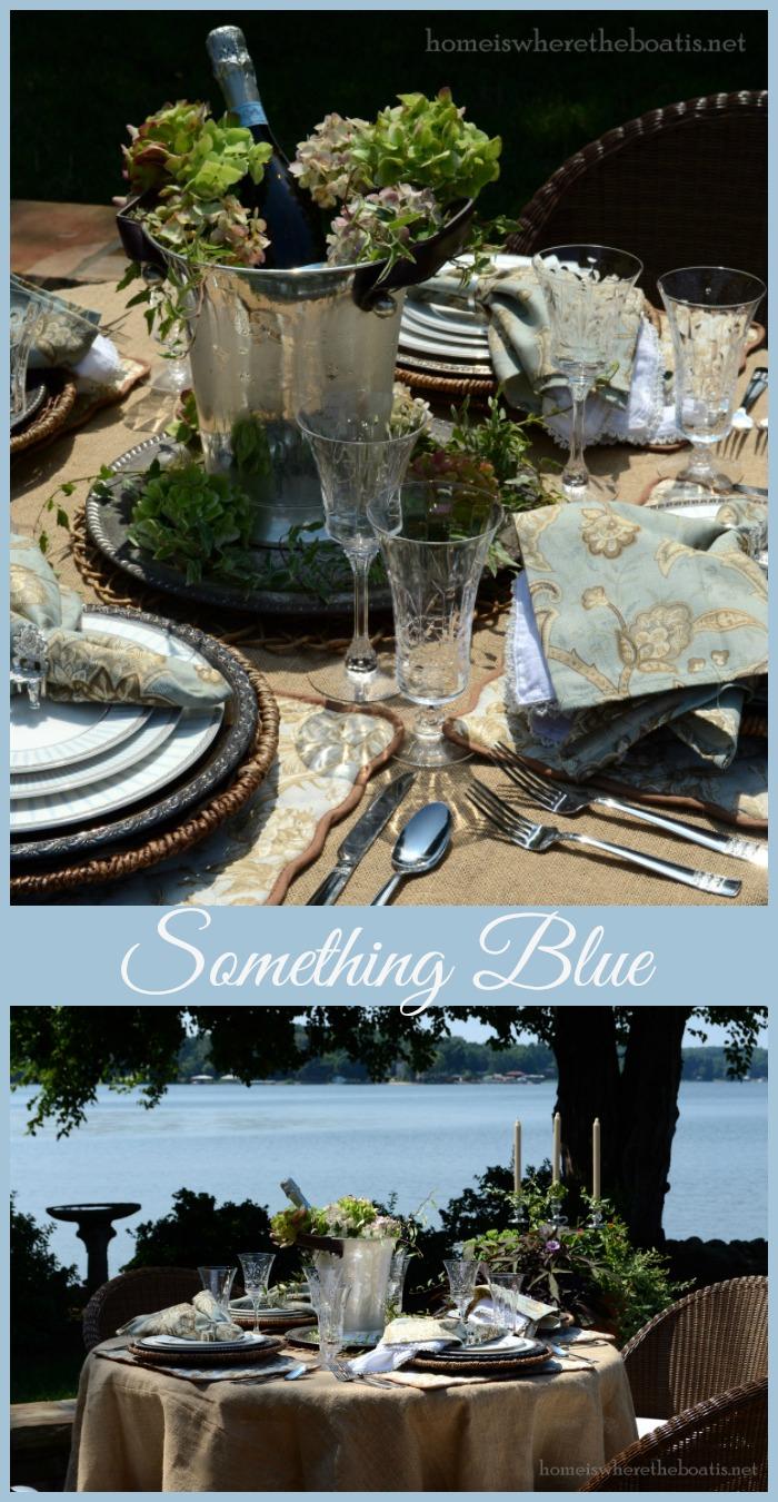 Mikasa Something Blue Dinnerware