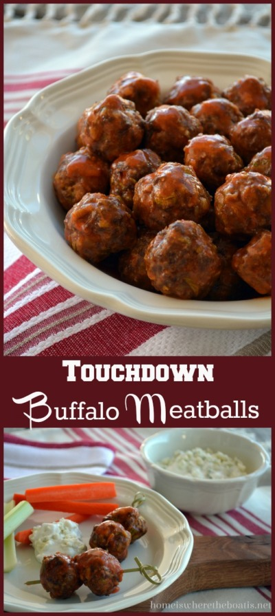 Touchdown Buffalo Meatballs