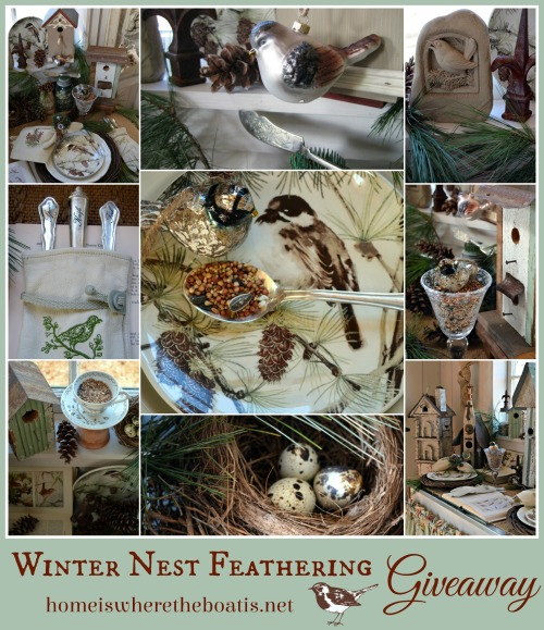 Winter Nest Feathering Giveaway